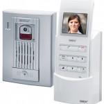 Interphone video sans fil blanc gev 086005