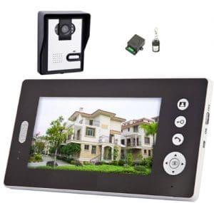 interphone video sans fil solaire
