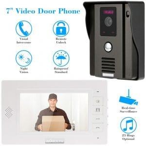 interphone video sans fil kkmoon