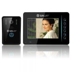 sunluxy sonnette video sans fil