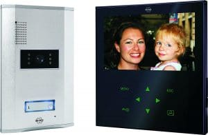 interphone video filaire elro