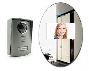 interphone video effet miroir