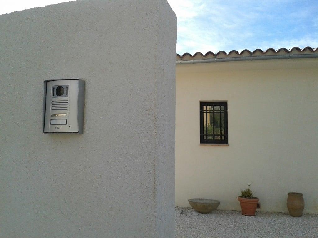 Boitier emetteur extel memo portail installation