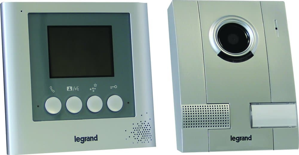 PORTIER VIDEO FILAIRE LEGRAND LEG369100