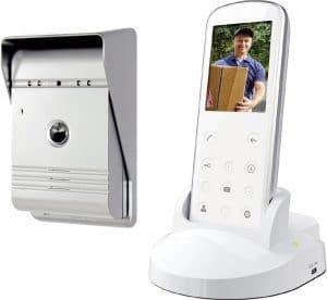 visiophone sans fil portier video sans fil. Black Bedroom Furniture Sets. Home Design Ideas