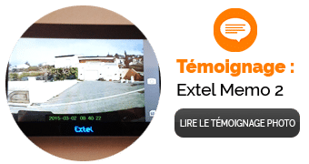 Test Installation du Portier Video Filaire Extel Memo 2