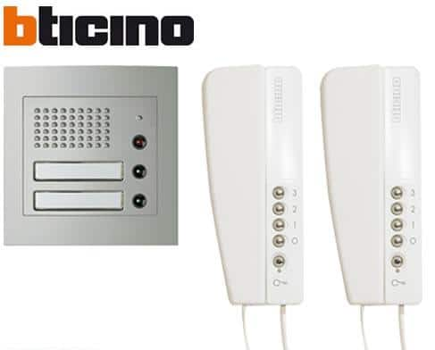 Interphone Bticino ck2 : le test de ce produit